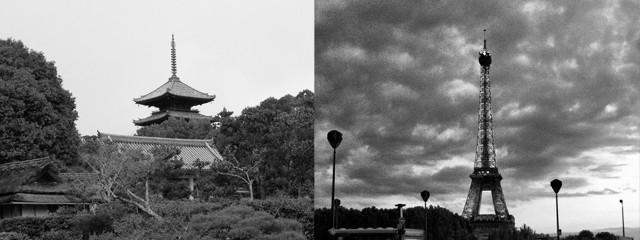 京都とパリ